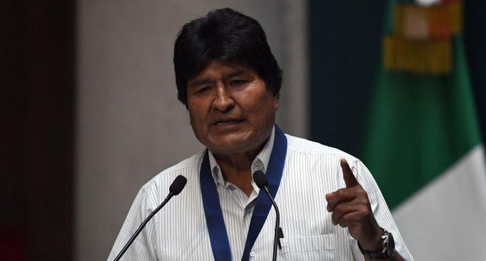 Desde su asilo en México, Evo Morales ha señalado en más de una ocasión que quiere una investigación del incidente, al considerar que no fue casual. (Foto: Archivo/AFP).