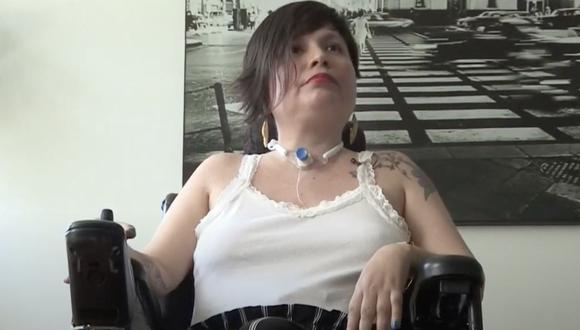 Ana Estrada obtuvo un fallo que le permite acceder a la eutanasia. (GEC)