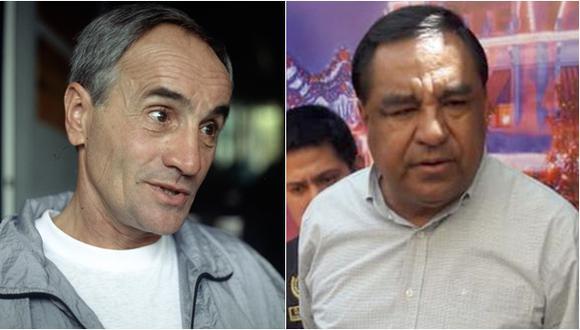 El recientemente fallecido Vladimir Popovic y Willy Serrato, actualmente bajo prisión preventiva. (Fotos: Grupo El Comercio)