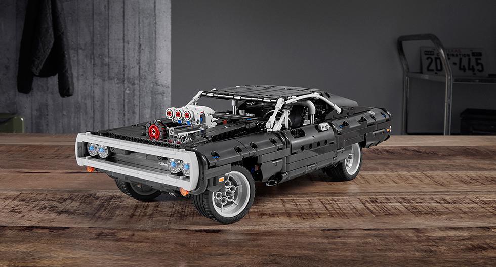 El Dodge Challenger R/T de 1970 utilizado por Dom Toretto en 'Fast & Furious' estará disponible en el mundo de Lego a un precio de US$ 120. (Fotos: Lego).