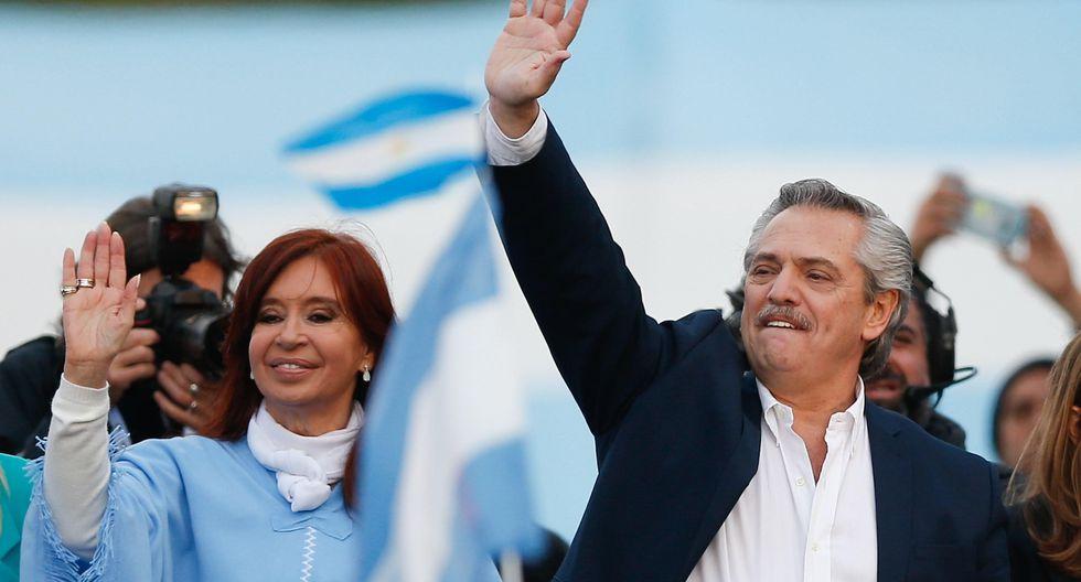 Al cierre de esta edición, el conteo oficial de votos al 82,78% en las elecciones presidenciales de Argentina daban como vencedor a Alberto Fernández, candidato del partido Frente de Todos. (EFE/Juan Ignacio Roncoroni).