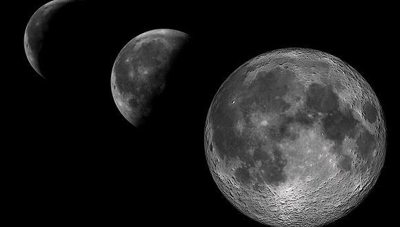 La Luna refleja la luz del Sol. (Pixabay)