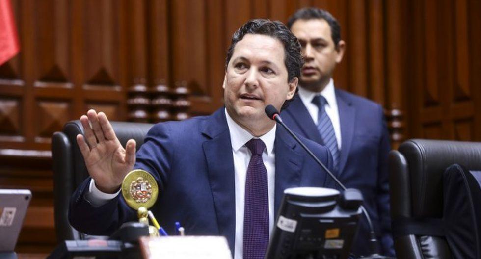 Daniel Salaverry renunció a la bancada de Fuerza Popular en enero del 2019. (Foto: Congreso).