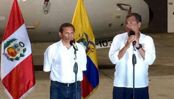 Correa: Perú no ayuda con grano de arena, sino con una playa