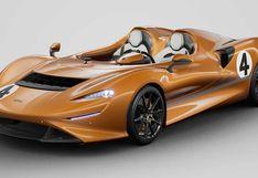 McLaren Elva rinde homenaje al primer auto naranja de la compañía   FOTOS