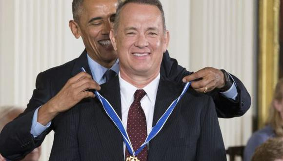 Robert De Niro y Tom Hanks fueron condecorados por Obama