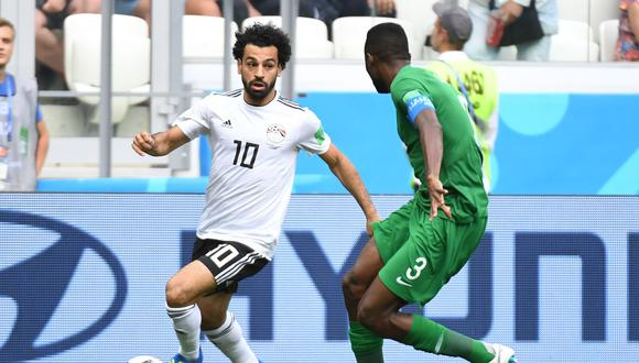 Egipto y Arabia Saudita ya eliminados buscarán irse sumando puntos en el último partido (9:00 am. EN VIVO ONLINE por DirecTV) del grupo A del Mundial Rusia 2018. (Foto: AFP)