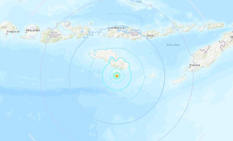 Indonesia fue víctima de un tsunami el pasado viernes. (Foto: USGS)