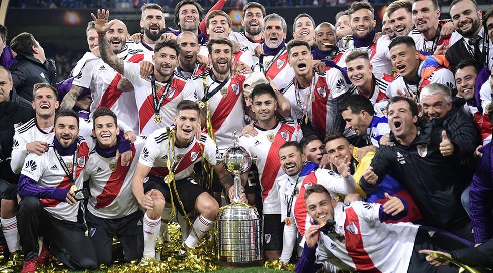 River Plate lidera el ranking mundial de clubes. (Foto: AFP)