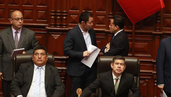 """Luis Galarreta indicó que Kenji Fujimori """"tiene el derecho de desconfiar"""" de la seguridad del Congreso, luego de haber encontrado su oficina lacrada este lunes. (Foto: Archivo El Comercio)"""