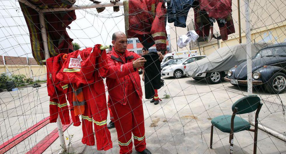 En estas condiciones trabajan los bomberos de Lima [FOTOS] - 1