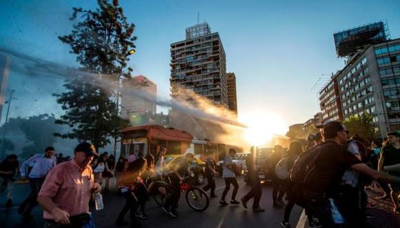 La muerte de Camilo Catrillanca por una bala de los Carabineros generó protestas en Santiago de Chile.