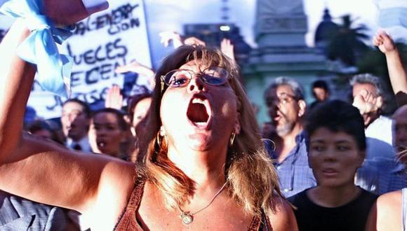 En 2002 Argentina se declaró en default en medio de grandes protestas. (Foto: Getty Images)