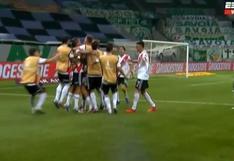 River Plate vs. Palmeiras: Gonzalo Montiel hizo golazo para el 3-0 y el VAR lo anuló por offside | VIDEO