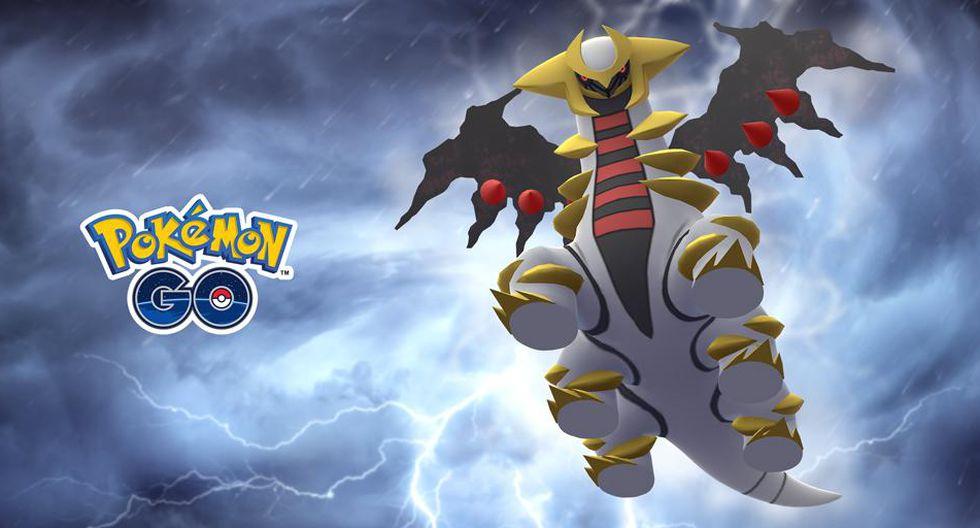 Un Giratina modificado llegará el miércoles 2,9 y 16 de octubre. (Foto: Pokémon GO)