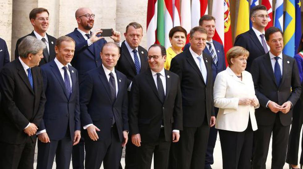 Unión Europea celebra su 60 aniversario bajo sombra del Brexit - 2