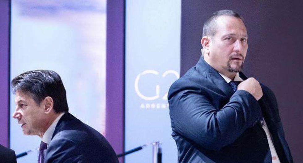 Giorgio Guastamacchia fue el agente encargado de la seguridad del primer mininistro italiano. (Foto: Facebook)