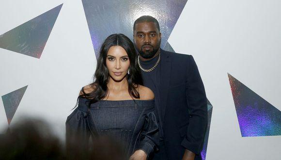Kim Kardashian y Kanye West están casados desde 2014 y tienen 4 hijos. (Foto: Getty Images)