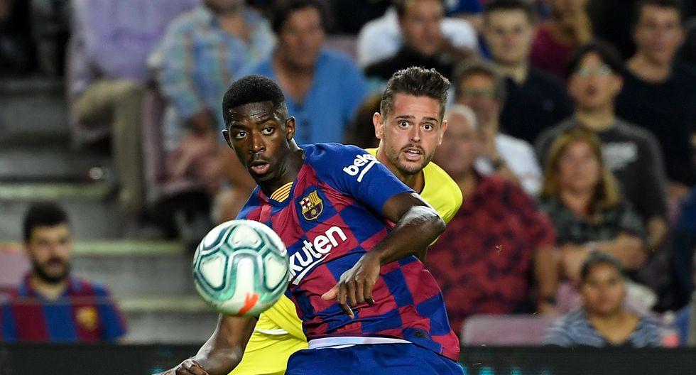 """Ousmane Dembele (Barcelona): """"Su ritmo es aterrador en el entrenamiento"""". (Foto: AFP)"""