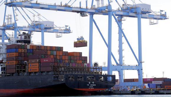 El déficit en el comercio de bienes con China, muy sensible políticamente, bajó un 15.6%, hasta los US$ 26,400 millones. (Foto: AP)