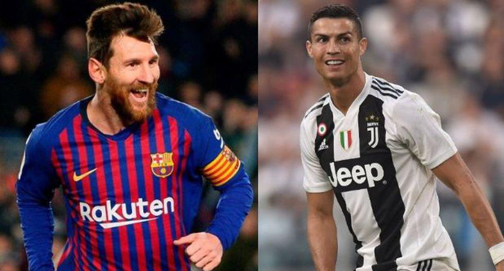 Lionel Messi y Cristiano Ronaldo fueron determinantes esta semana en los partidos de octavos de final de la Champions League. (Foto: AFP).
