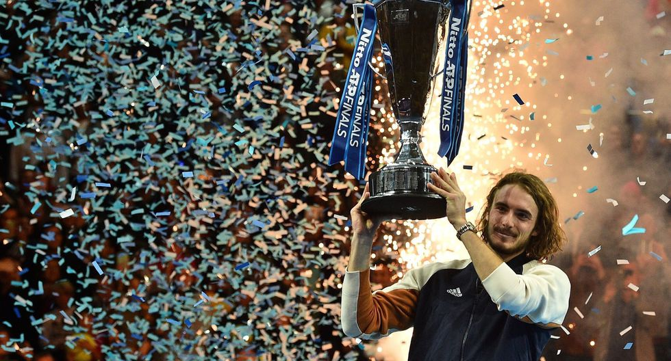 Stefanos Tsitsipas ha ganado cinco títulos ATP en sus tres años como tenista profesional. (Foto: ATP)