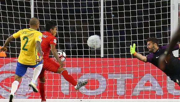 El gol de Raúl Ruidíaz le costó el puesto a Dunga como entrenador de Brasil. (Foto: Getty images)
