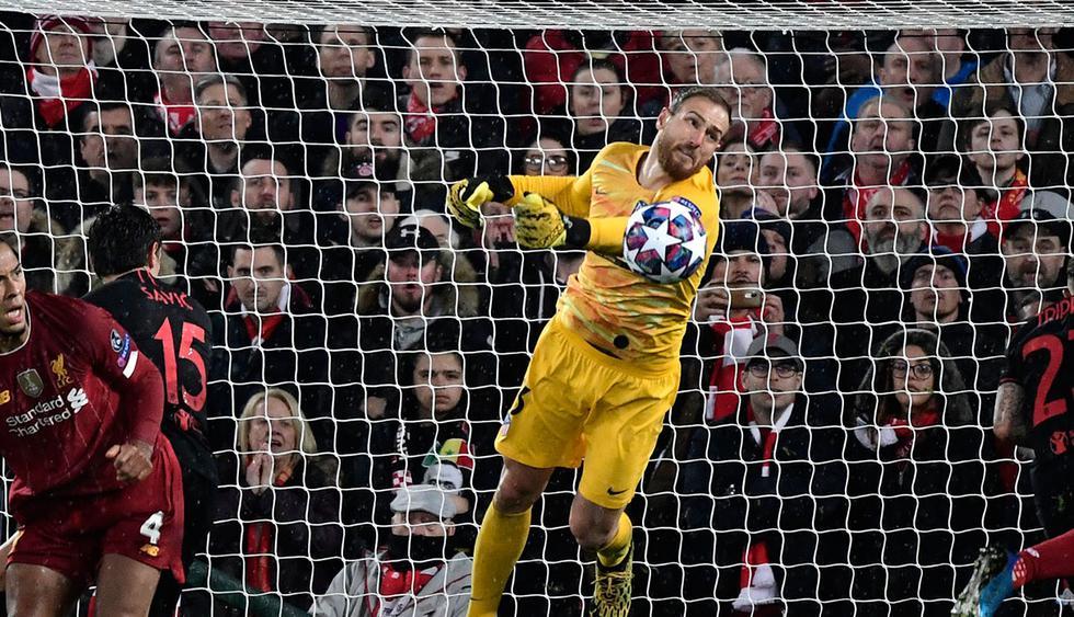 Jan Oblak (Atlético de Madrid) está cotizado en 87 millones de dólares. (Foto: AFP)