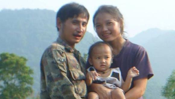 """Pinnapa """"Muenoor"""" Prueksapan sabía que su esposo, Porlajee """"Billy"""" Rakchongcharoen, corría peligro. Foto: CORTESÍA DE LA FAMILIA, vía BBC Mundo"""