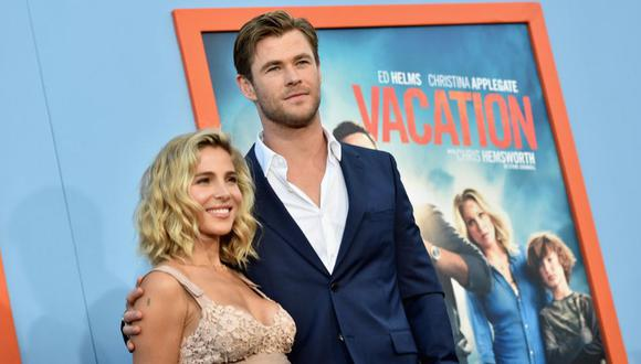 Chris Hemsworth y Elsa Pataky tienen una historia de amor muy particular | Foto: AFP