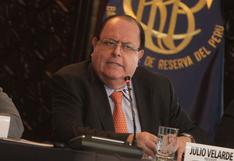 Julio Velarde se reunió esta tarde con el presidente Castillo