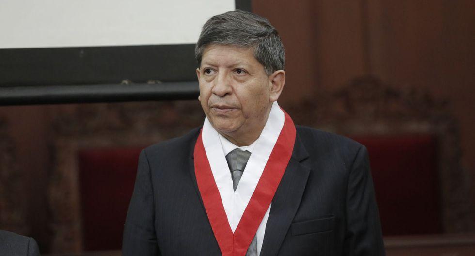 Carlos Ramos, magistrado del Tribunal Constitucional, indicó que el pleno sesionaría la otra semana. (Foto: GEC)