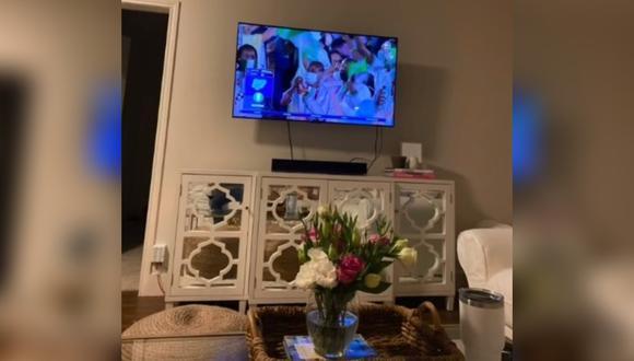 Quiso mostrarle a su novia que veía los Juegos Olímpicos Tokio 2020 y terminó revelando que era infiel. (Foto: @callhermeganmarie / TikTok)