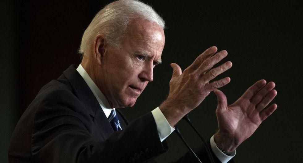"""Joe Biden promete ser más """"respetuoso"""" tras denuncias de tocamientos inapropiados. (AFP)"""