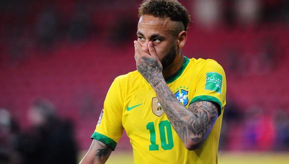 Neymar será el gran ausente en los Juegos Olímpicos 2021. EFE/ Ricardo Rímoli