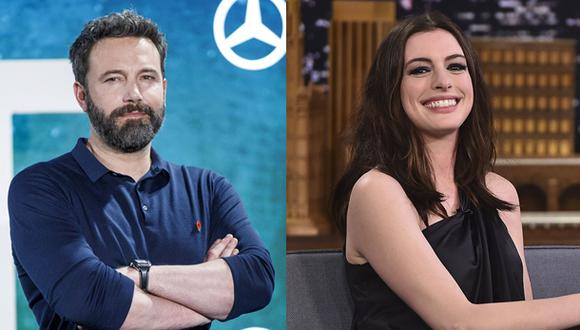 Ben Affleck y Anne Hathaway compartirán roles en la película (Fotos: Agencia)