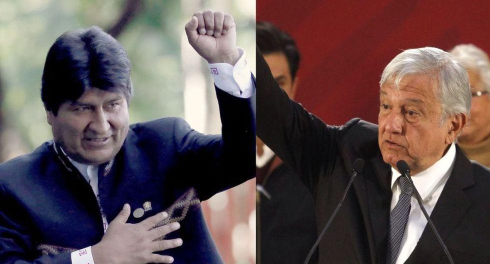 "Bolivia | Evo Morales felicita a México por dejar sin apoyo ""actos de golpismo diplomático"". (AFP / EFE)"