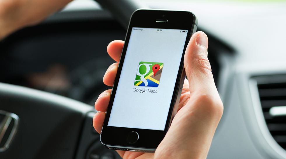 Google Maps auto