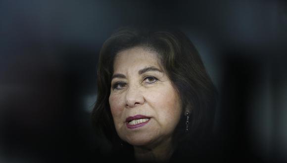 Martha Chávez ha sido elegida congresista seis veces 1992, cuando se realizaron elecciones para el Congreso constituyente, tras el autogolpe del 5 de abril. (Foto: El Comercio)