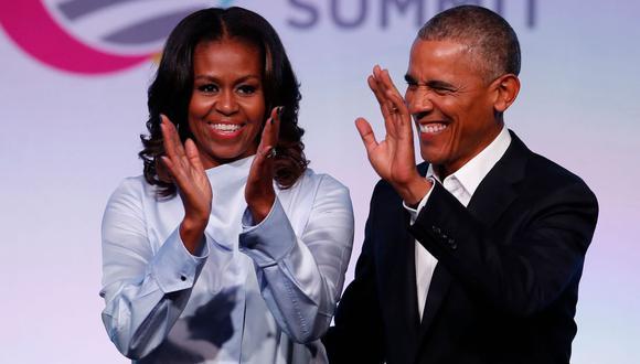 Netflix estrenará en agosto el primer documental producido por Michelle y Barack Obama. (Foto: AFP)