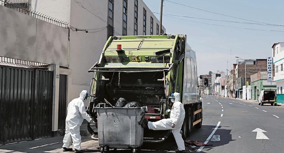 Trabajadores de limpieza pública serán contratados solo por municipios, establece la norma. (Foto: GEC)