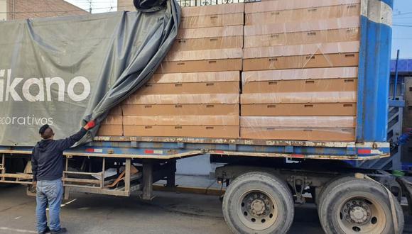 Ica: donan 120 ataúdes de cartón prensado para que personas de bajos recursos entierren a familiares (Foto: Municipalidad de Ica)