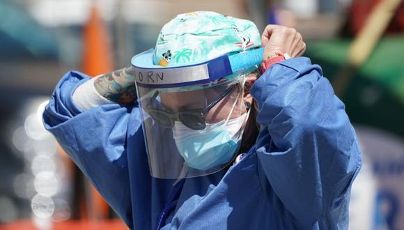Coronavirus en Estados Unidos   Ultimas noticias   Último minuto: reporte de infectados y muertos hoy martes 4 de agosto  Covid-19   (Foto: AFP / Bryan R. Smith)