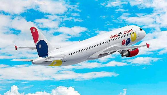 Viva Air reporta cero contagios por COVID-19 y anuncia que retomará sus operaciones en quincena de julio. (Foto: Difusión)