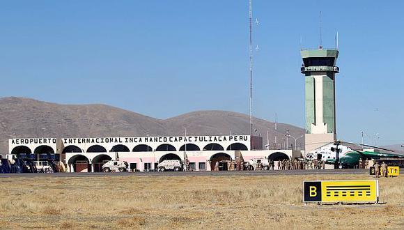 Juliaca: un aeropuerto para aterrizar en las nubes