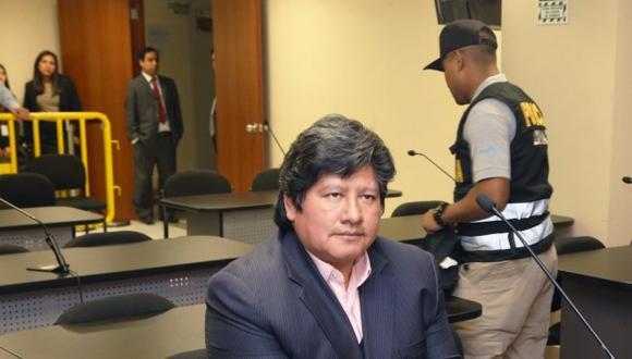 Edwin Oviedo ya está en Chiclayo y pronto será internado en penal de Picsi