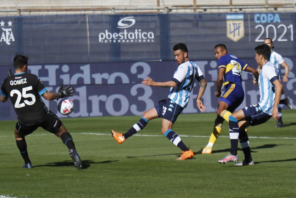 Boca - Racing en directo: jugaron por semifinales de la Copa de la Liga
