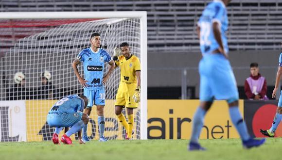 Binacional fue humillado por 8-0 ante River Plate por la Copa Libertadores. (Jesús Saucedo /GEC)