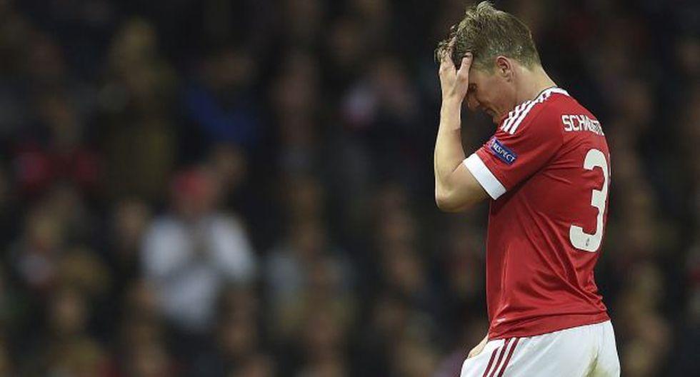 Schweinsteiger no quiere dejar el United pese a estar relegado