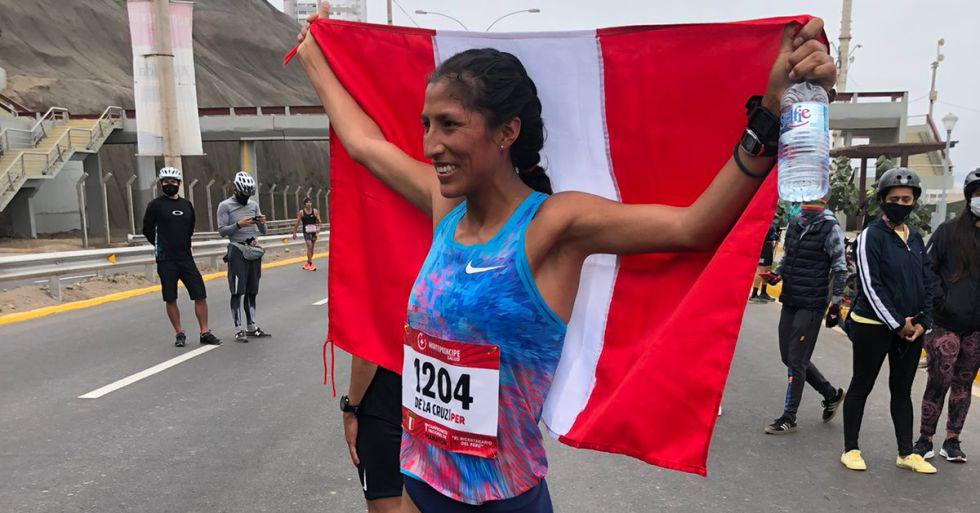 Jovana De la Cruz - Atletismo - maratón. (Foto: IPD)